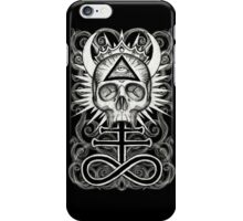 Illuminati Skull and Sulphuric Cross iPhone Case/Skin