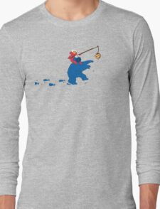Cookie Monster Zombie Long Sleeve T-Shirt