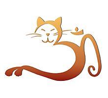 Om Kitty - Henna Fade Photographic Print