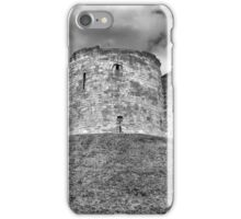 Clifford's Tower in York  historical building  iPhone Case/Skin