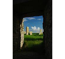 time window Photographic Print