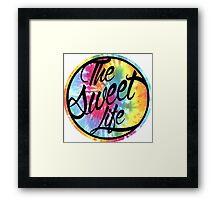The Sweet Life Framed Print
