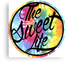 The Sweet Life Canvas Print