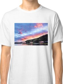 Sky Fire Sunset. Photo Art, Prints, Gifts, and Apparel. Classic T-Shirt