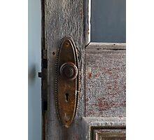 Old Hotel Doorknob 2 Photographic Print