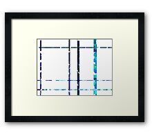 Lines of the soul Framed Print
