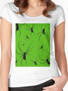 Spider Nest Women's Fitted Scoop T-Shirt