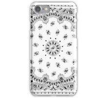 White Hanky,Handkerchief iPhone Case/Skin