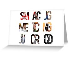 Magcon Greeting Card