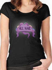 ALL HAIL the GLOW CLOUD Women's Fitted Scoop T-Shirt
