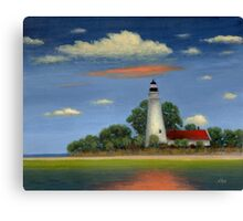 St. Mark's Light, Florida Canvas Print