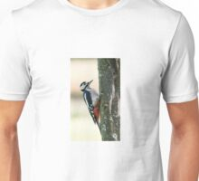 Great Spotted Woodpecker Unisex T-Shirt