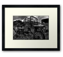 Trip Back In Time Framed Print