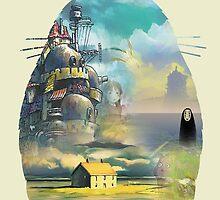 Gibbly Studios Totoro by Tatsuya