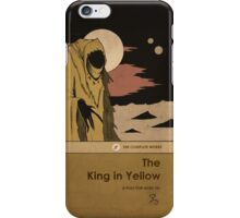 The King in Yellow iPhone Case/Skin