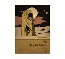 The King in Yellow Art Print