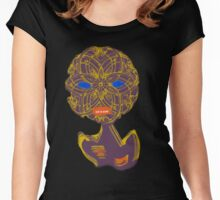 Somewhere in the mirror Women's Fitted Scoop T-Shirt