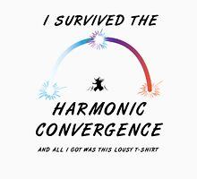 I survived the Harmonic Convergence- light shirt design Womens Fitted T-Shirt