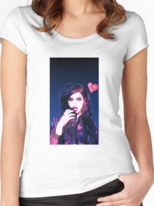 SUCK MY DICK - Adore Delano Women's Fitted Scoop T-Shirt