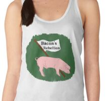 Bacon's Rebellion Women's Tank Top