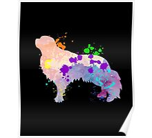English Toy Spaniel Puppy Cool Gift Shirt For Kids & Adult Poster