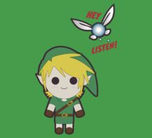 Link and Navi Cuties by juiceboxjay