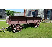 Old Wagon Fayette State Park  Photographic Print