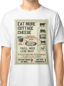 Vintage poster - Cottage Cheese Classic T-Shirt