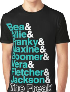 Wentworth Prison Inmates Graphic T-Shirt