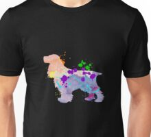 English Cocker Spaniel Puppy Dog Gift Shirt For Kids & Adult Unisex T-Shirt