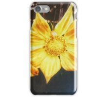 VINTAGE GOLD FLOWER iPhone Case/Skin