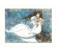 Dance With Snow White Art Print