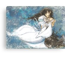 Dance With Snow White Canvas Print