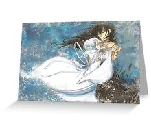 Dance With Snow White Greeting Card