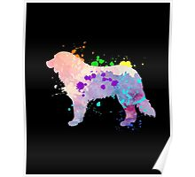 Colorful Adult & Kids Bernese Mountain Dog Cool Shirt Gift Poster