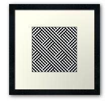 Ups & Downs Framed Print
