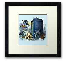 Finding Phonebooth Framed Print