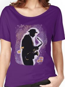 Jazz History with Billie Holiday and Fats Waller Women's Relaxed Fit T-Shirt
