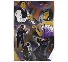 Jazz History with Billie Holiday and Fats Waller Poster
