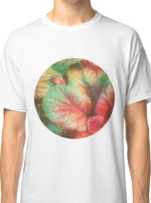 RED GREEN LEAFY PLANT Classic T-Shirt