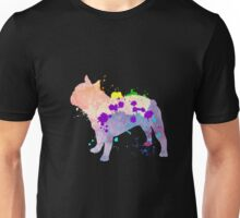 Cool & Cute Colorful Bulldog Gift T-Shirt For Adult & Kids Unisex T-Shirt