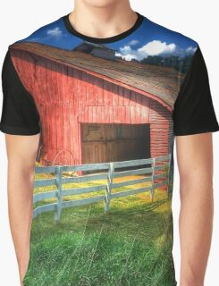 Barn in Valle Crucis Graphic T-Shirt