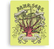 Dark Seas. Canvas Print