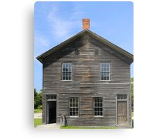 Town hall Fayette State Park Metal Print