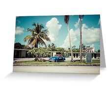 Vintage Motel Greeting Card