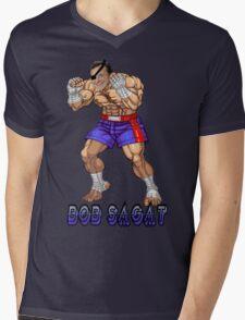 Bob Sagat Mens V-Neck T-Shirt