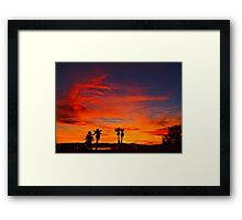 Last Night Framed Print