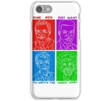 watch the world learn iPhone Case/Skin