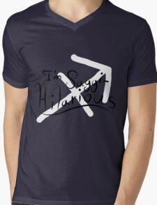 Saggi-Hilarious Mens V-Neck T-Shirt