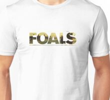 FOALS BAND LIVE LOGO  Alt Version Unisex T-Shirt